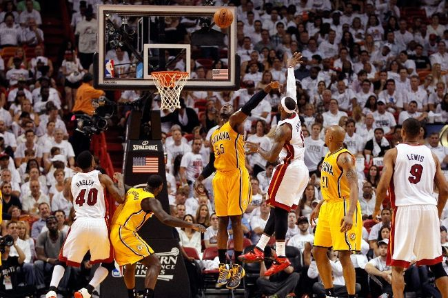 lebron james-heat-pacers