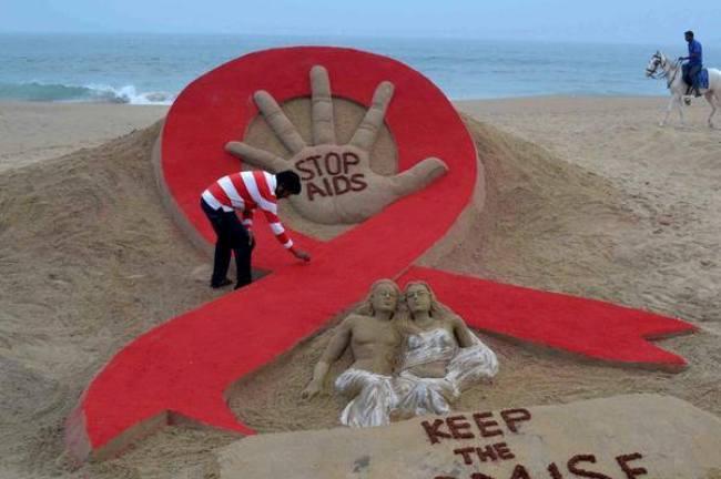 pagkosmia imera kata AIDS