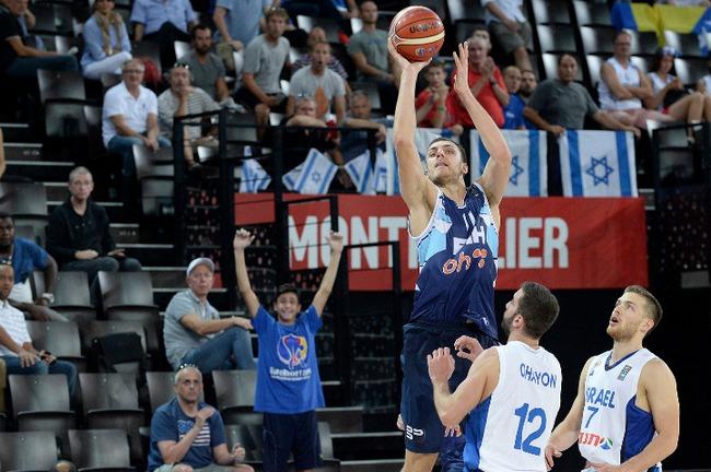 Elmentin Kikanovic-Bosnia-Israel-Eurobasket